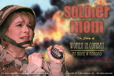 Soldier Mom 3-act play cover