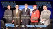 Fred Stawitz with Greg Matkowsky at WVIA-TV PBS